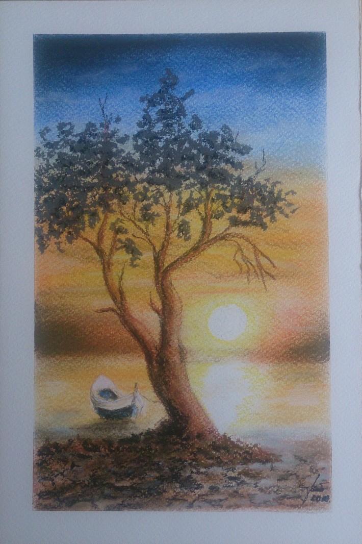"""""""A békességet szétosztja az este meleg kenyeréből egy karaj vagyok, pihen most az ég is, a nyugodt Marosra s homlokomra kiülnek a csillagok."""" József Attila: Megfáradt ember  1923. augusztus"""