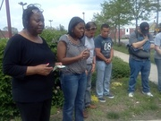 Aurora, IL, National Day of Prayer 2012, Across-the-City Prayerwalk