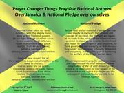 Prayer Changes Things Pray For Jamaica