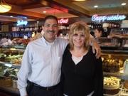 Henry & Kim Vazquez @ Marietta Diner, Marietta GA 11-1-2011 Brittany B-Day