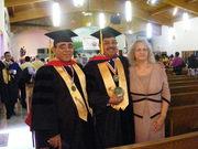 Dr. Jesús Garcia, Dr. Miguel Bonilla, Rev. Mary Bonilla