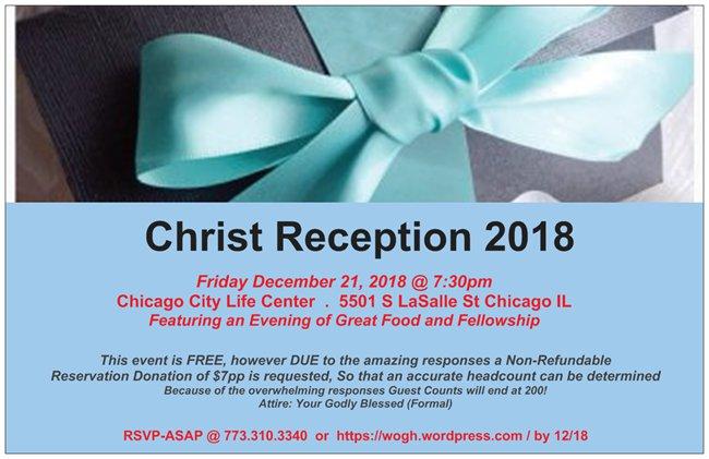 Christ Reception 2018