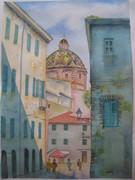 painting sardinia cupola