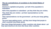 Six Contradictions of Socialism