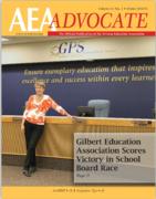AEA Brags On Gilbert Teacher Union