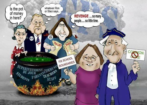 Gilbert School Board Cartoon