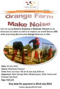 BR Orange Farm Make Noise Poster