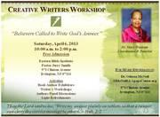 Creative Writers Workshop