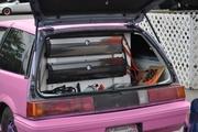 Daniel Kirkland's Memphis Powered Honda dubbed Pinky