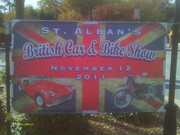 ST. ALBAN'S British Car & Bike Show Monroe Ga. Nov. 12, 2011