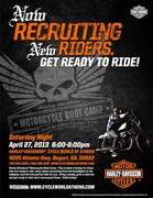 Motorcycle Boot Camp @ Cycle World