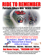 RIDE TO REMEMBER 2013 @ Cycle World