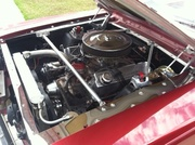 66 Mustang engine compartment