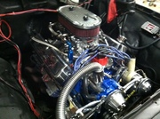 56 F 100 engine compartment