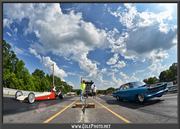 Father and Son at Paradise Dragstrip