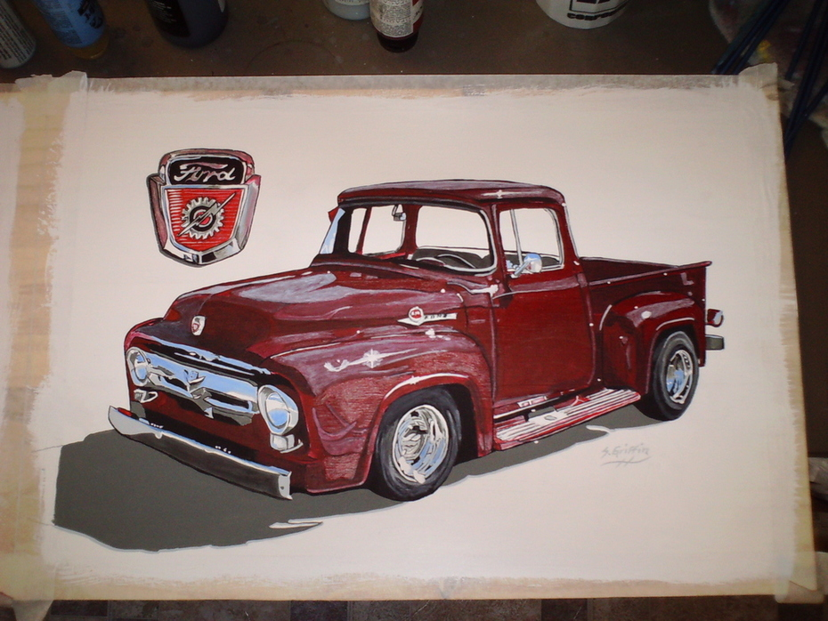 Just Finished Painting  number 2 owner Eddie kay 002