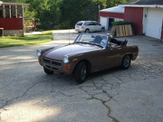 78 MG Midget with new paint.