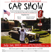Chic-fil-A South Cobb Drive Benefit Car Show for Michelle Haulbrook Sanders