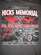 1st ANNUAL HICKS MEMORIALCar,Truck, Bike & Jeep Show