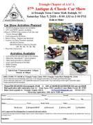 57th Annual Antique & Classic Car Show - Raleigh NC