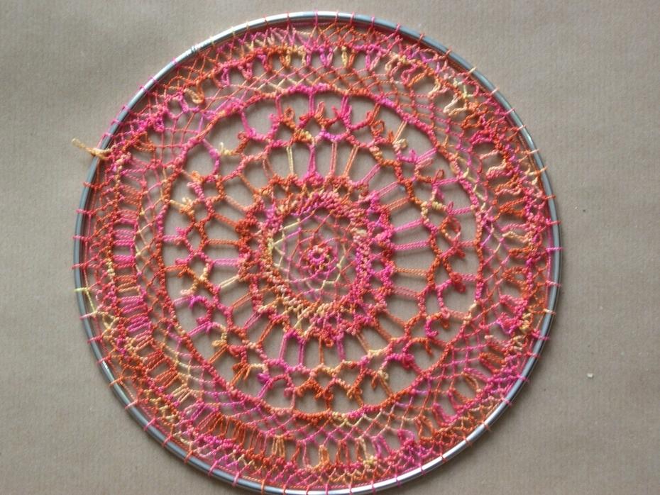 armenian lace in colour