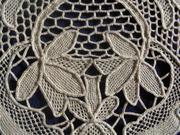 Needle Lace Mat Detail 2