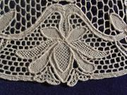 Needle Lace Mat Detail 4