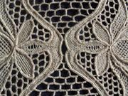 Needle Lace Mat Detail 1