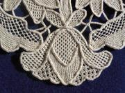 Needle Lace Mat Detail 3