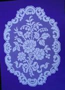 Filet lace Mat