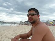 Na praia!!