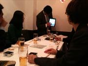 4月27日 電子新聞の会で突然登場したiPad