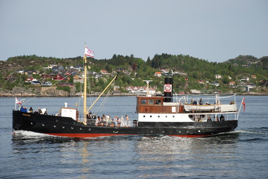 MS Granvin på Byfjorden 2008