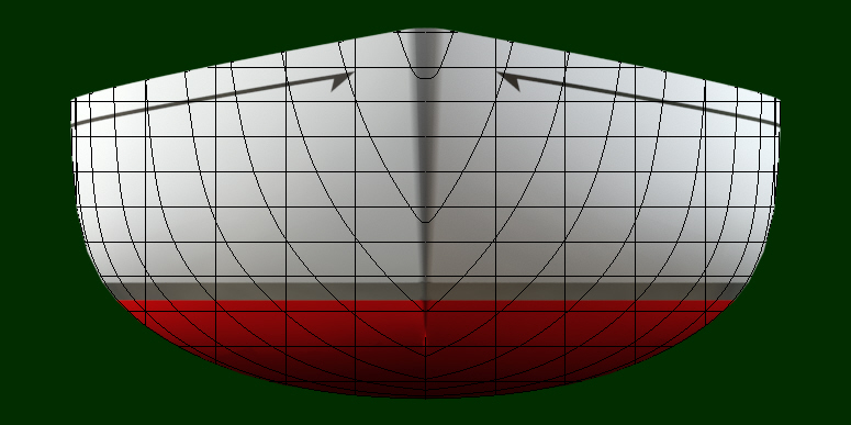 Hull with Lines 1