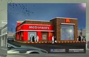Renovation of McDonald's Restaurant