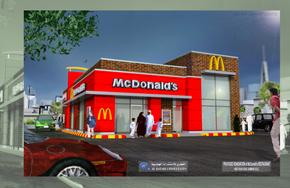 Renovation of McDonald's Restaurant