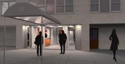 NYC Apartment Building Lobby