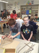 Students in Process, Natural Material Construction