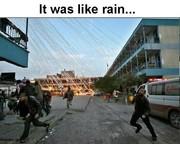 Gaza Raining From The Sky