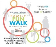 Amana Academy Family Fun Walk