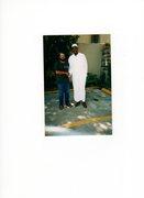 Hakeem Olejawon with Br. Muhammad-Bey