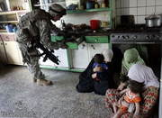 Muslimahs and toddlers under occupation in Iraq
