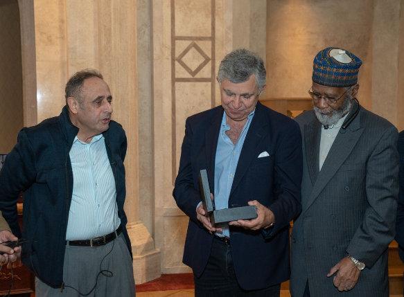 Al Farooq Masjid of Atlanta Honors Sheikh Said Malas..