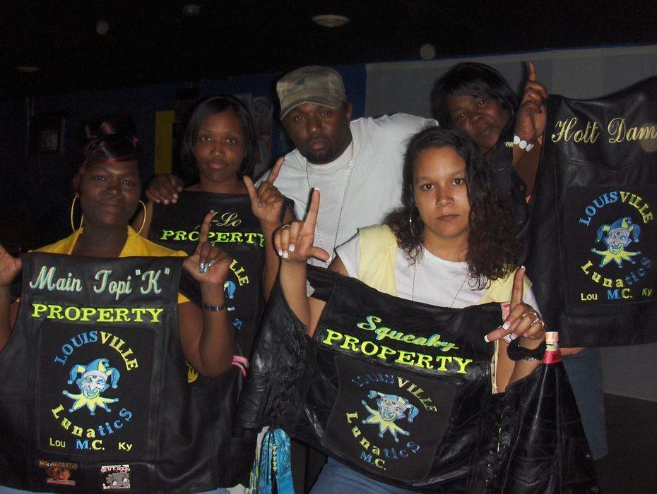 NLZ & St Lunatics Motorcycle Club Females