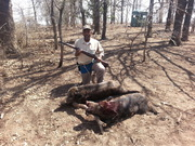 My first big game hunt
