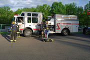 Fire Training at Warrent County Fire Academy