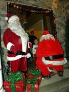 Santa Visits Homes, 2012