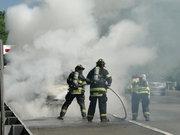 Allamuchy Fire Responds to Truck Fire