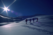 Bergamo ski mountaneering