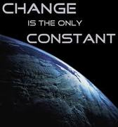 Change, the only constant